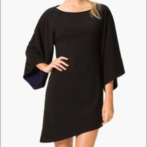 Abi Ferrin Bell Sleeve Asymmetrical Dress